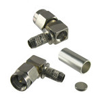 SMA Male Right Angle Crimp Connector-16SMA-50-3-56/199