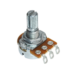 Alpha 1M Audio Taper Potentiometer With Solder Lugs