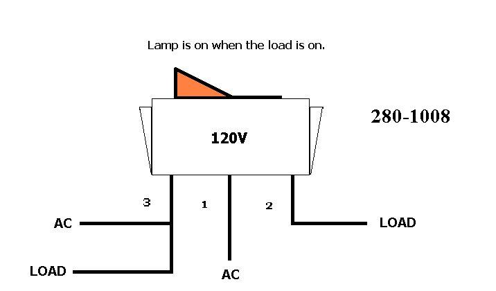 Lighted Rocker Switch Wiring Diagram:  Iron Blog,Design