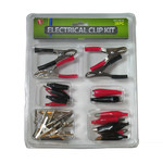 28pc Electrical Clip Set-Alligator Clip