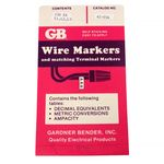 Wire Markers L1,L2,L3 150 Each