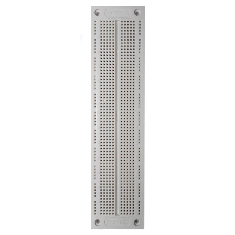 "Breadboard 760 Point SYB-130 7-1/2""X1-3/4"" - Click Image to Close"