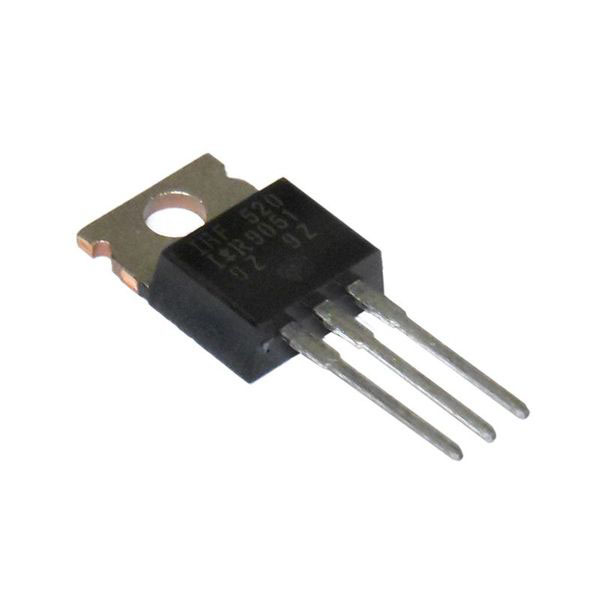 IRF520 N-Channel Power MOSFET - Click Image to Close