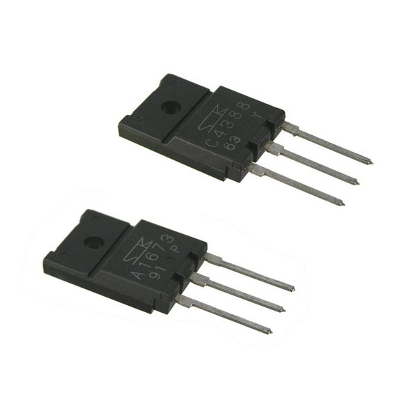 2SC4388(NPN)--2SA1673 (PNP) Audio Complementary Transistor Set - Click Image to Close