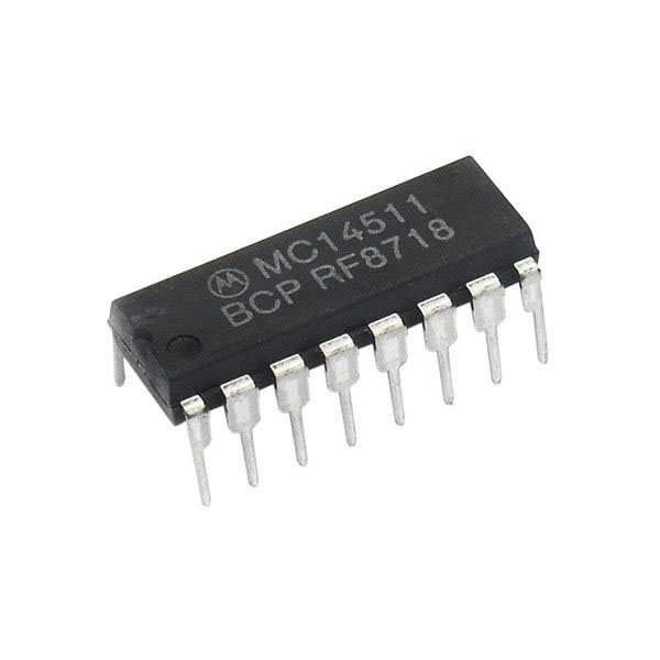 MC14511BCP BCD to 7-Segment Latch Decoder Driver - Click Image to Close