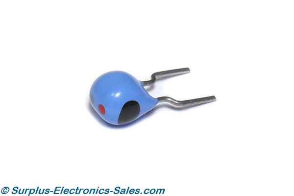 27uH Inductor, Radial Lead, 10% Tolerance, 1/2 Watt - Click Image to Close