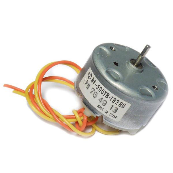 3-6Vdc Hobby Motor, RF-500TB-18280 - Click Image to Close