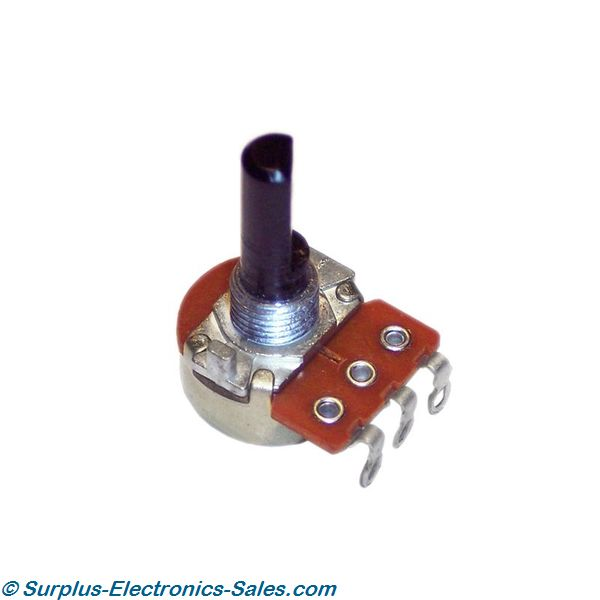 500 Ohm Linear Potentiometer - Click Image to Close