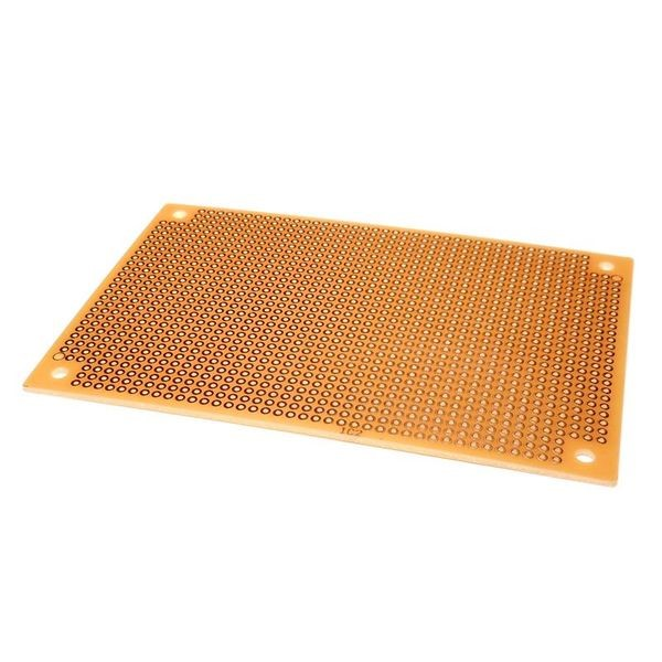 "Perforated PC Board 4-11/16""X3-1/8"" 1314 Holes - Click Image to Close"