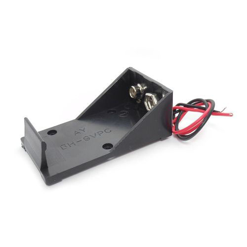 9v Battery Snap-In Holder