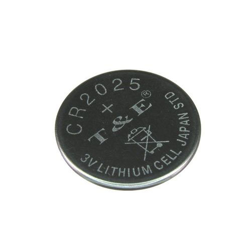 CR2025 Lithium Coin Battery 5-pk