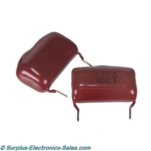 0.22UF 400V Metallized Film Capacitor