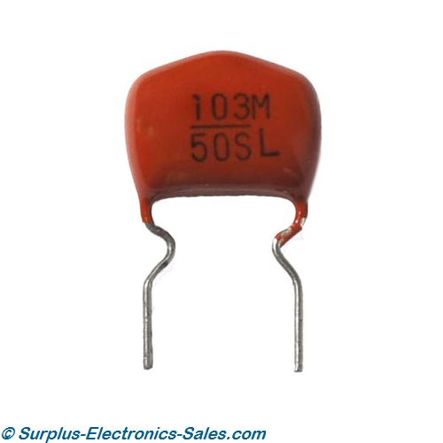 .01uF 50V Metallized Polyester Film Capacitor