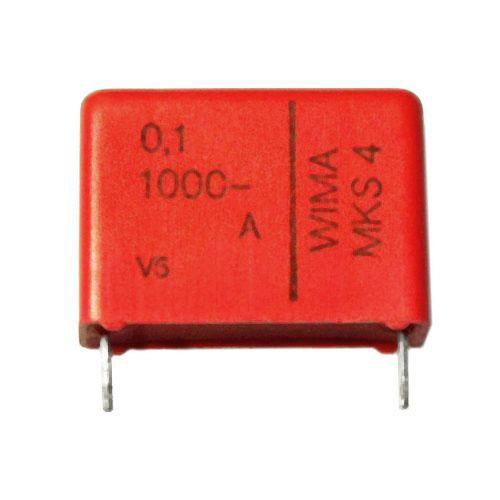 .1uF 1000Vdc 10% Metallized Polyester Capacitor
