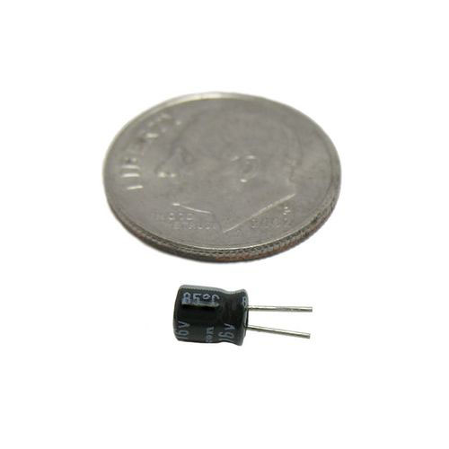 10uF 16V Electrolytic Capacitor