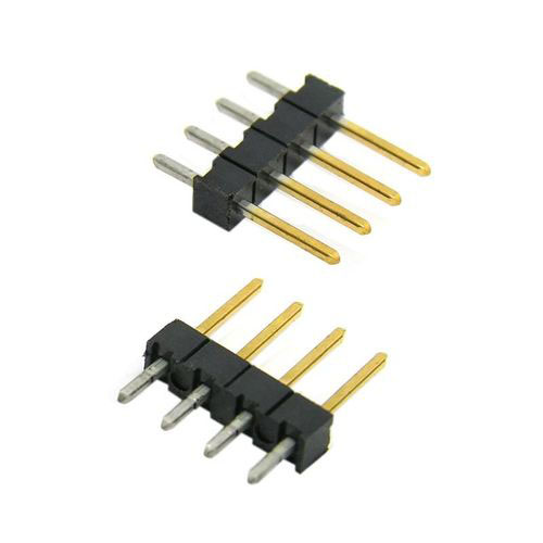 Male 4-Pin Single Row Breakaway Header