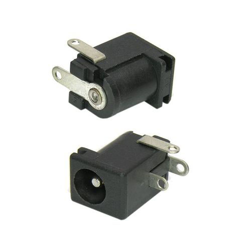 2.5mm X 5.5mm Right-Angle PCB DC Power Jack