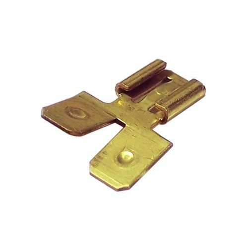 "Piggyback Connector, Double Male 0.250"" Pgk/10"