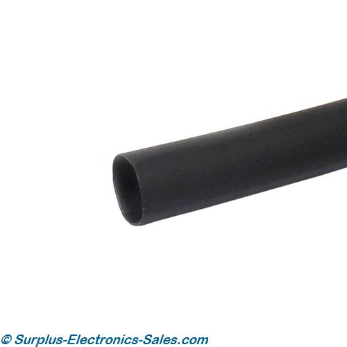 "3/16""X4' Black Heat Shrink"
