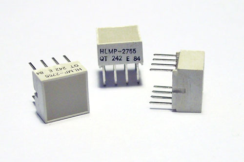 HLMP-2755 Yellow 4 LED Indicator