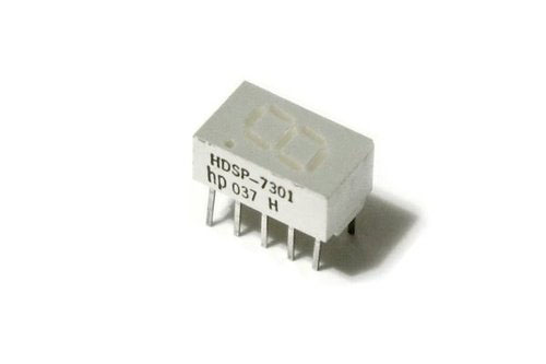HDSP-7301 Micro Bright 7-Segment Display