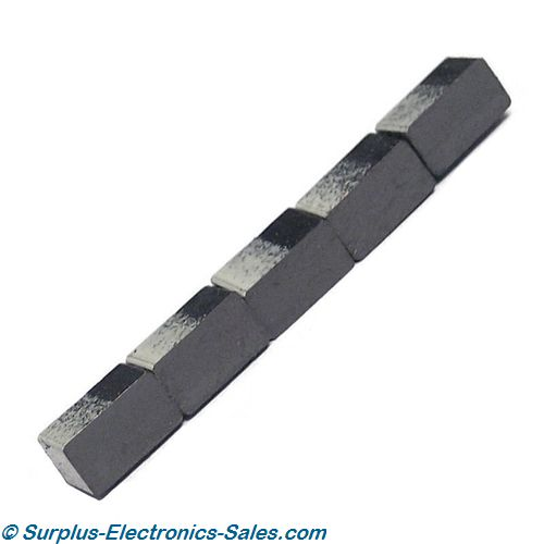 Magnet, Rectangular, Small Rubber Pkg/5