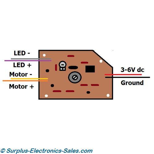 3v dc motor speed controller