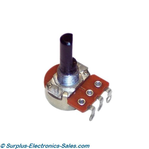 500 Ohm Linear Potentiometer