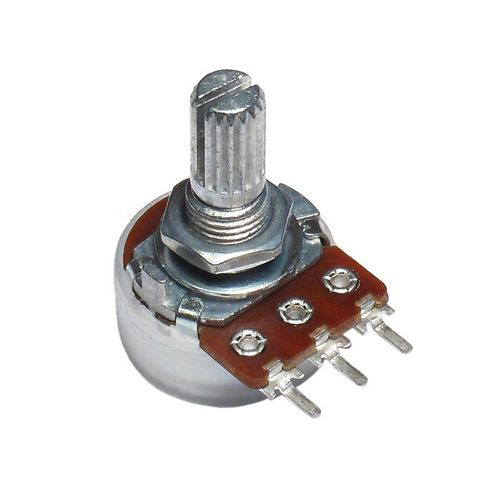 Alpha 500K Audio Taper Potentiometer PCB