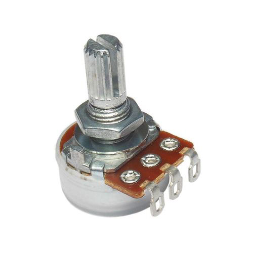 Alpha 500K Linear Taper Potentiometer With Solder Lugs