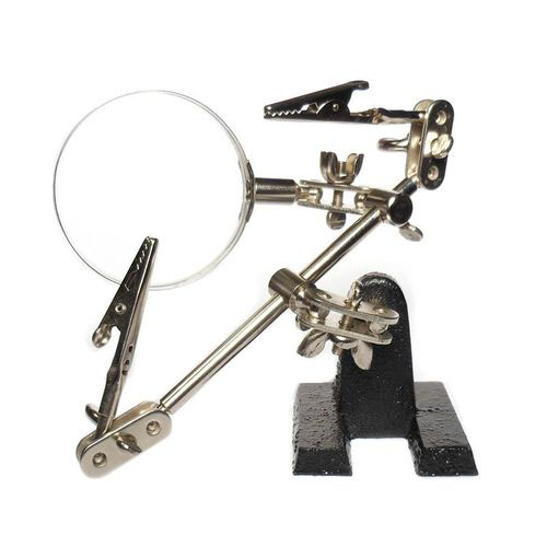 Helping Hand Magnifier 4X Lens MZ101