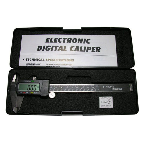 6'' 3-IN-1 Electronic Digital Caliper w/Large Display